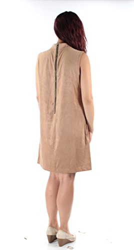 Brown Womens Dress Shift Suede Alfani Faux A0OqOw