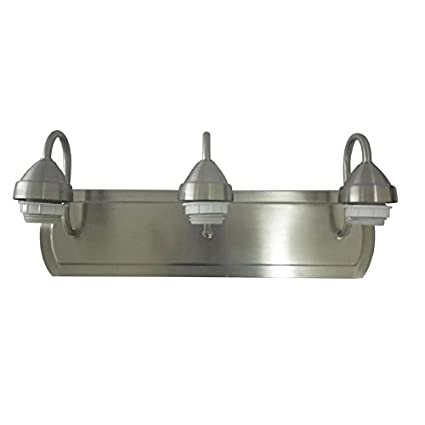 Amazoncom Portfolio 3 Light 6 In Brushed Nickel Vanity Light Bar
