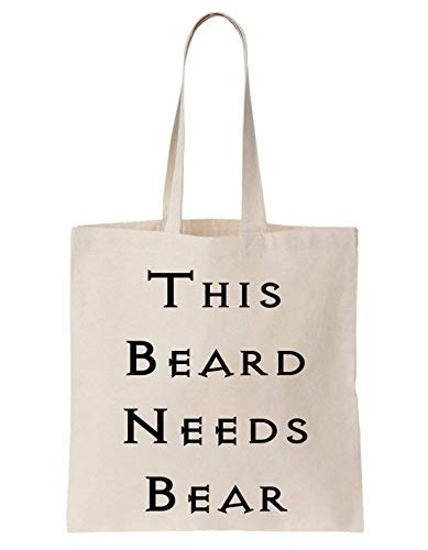 Sac Father Family Totebag This Krissy Coton En Papa Cool Dad Beard Needs Bear ABxzXU