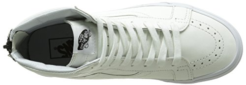 Hautes Blanc Reissue Sk8 Sneakers Black Premium True Leather Mixte Zip Hi Adulte Vans White qxFXwS6CS