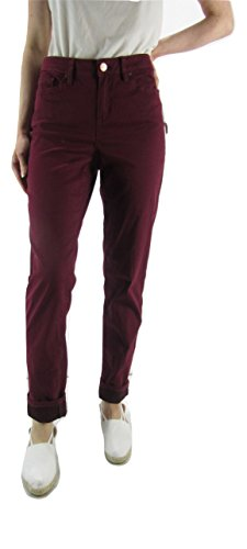 AMERICAN RAG CIE Juniors' Colored Skinny Ankle Soft Jeans, Zinfandel, 11 from AMERICAN RAG CIE