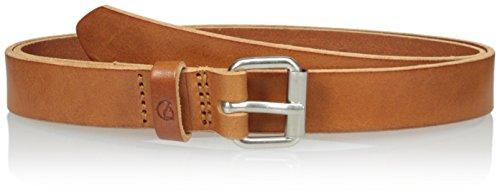 Fjallraven - Singi Belt 2.5 cm, Leather Cognac, 85cm