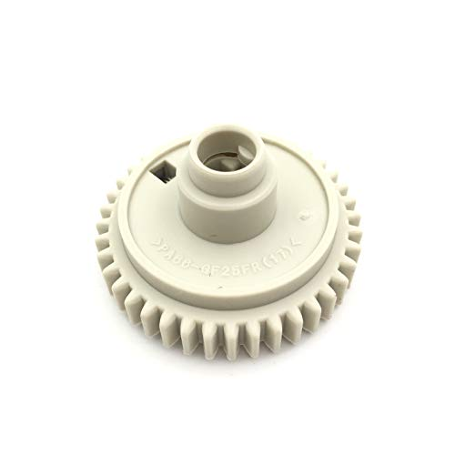 OKLILI 10PC X RC1-3324 RC1-3325 RC1-3324-000 RC1-3325-000 Upper Fuser Roller Gear Drive Gear Assembly 40T for HP 4200 4240 4250 4300 4350 4345