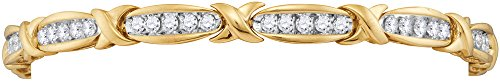 2 Total Carat Weight DIAMOND FASHION BRACELET by Jawa Fashion