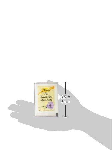 Roland Pure Saffron Powder, 50 Envelopes Net Wt. 1/220 Oz (0.13g) by Roland (Image #5)