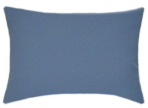 TPO Design Sunbrella Sapphire Blue Patio Pillow 12x18 (Rectangle)