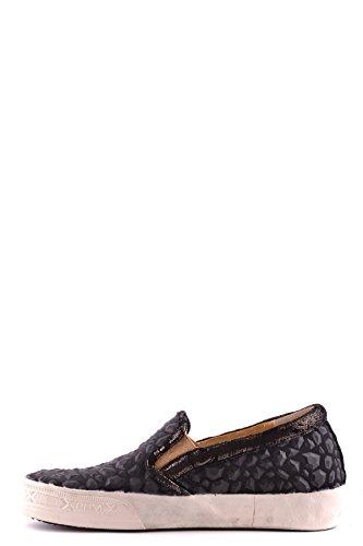 Fabric Women's Sneakers Black Philippe Slip MCBI238009O Model On 6IgnRqOT
