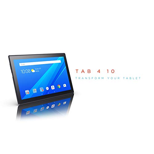 Lenovo Tab 4, 10.1 Android Tablet, Quad-Core Processor, 1.4GHz, 16GB Storage, Slate Black, ZA2J0007US