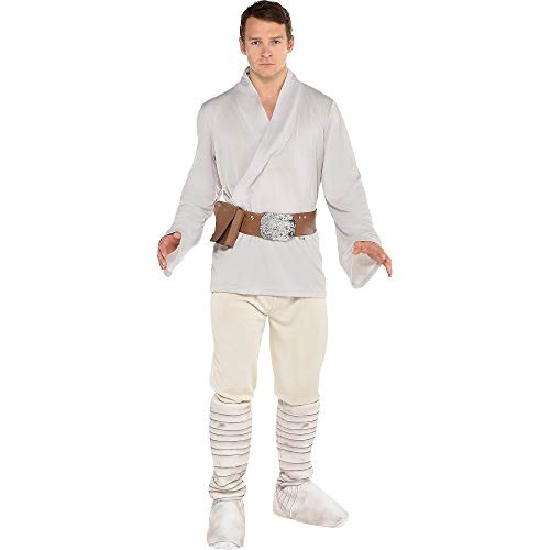 (SUIT YOURSELF Luke Skywalker Halloween Costume for Men, Star Wars, Standard, Includes)