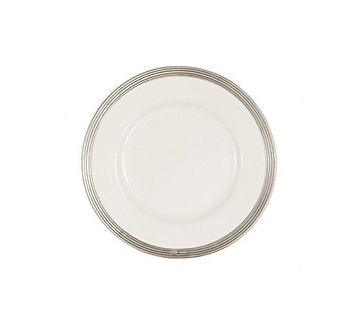 Arte Italica Tuscan Salad/Dessert Plate, White