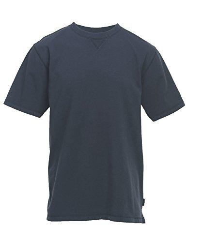 Woolrich Men's First Forks Solid T-Shirt, Deep Indigo, X-Large