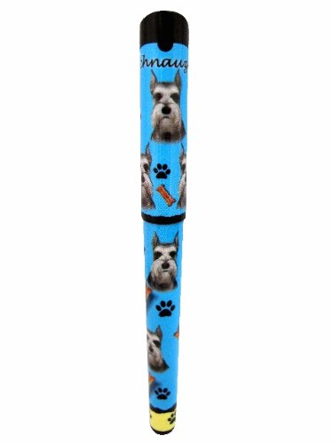 Schnauzer, Cropped Pen Easy Glide Gel Pen, Refillable With A Perfect Grip, Great For Everyday Use, Perfect Schnauzer, Cropped Gifts For Any Occasion (Schnauzer Cropped)