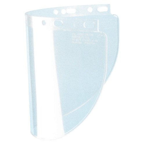 Face Shield Window - Fibre-Metal 280-4178CL High Performance Faceshield Windows, Clear, Wide View, 8