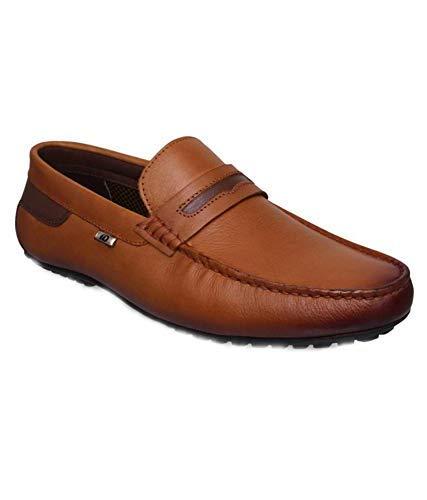 Buy ID 1040 Men TAN Leather Casual