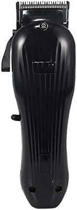 Cortapelos Batería de litio Motor rotativo Recortador recargable Wahl Clipper Máquina de afeitar Cortar la barba Maquinilla de afeitar eléctrica