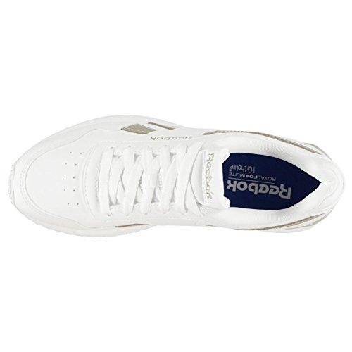 Baskets Ripple Chaussures Reebok Royal Officiel femme Sneakers Blanc Glide doré pour Clip Baskets dgwRYIxq