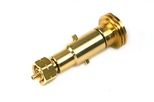 2 in1 Acme & bayoneta Reservorio adaptador con integrado entrerrosca para rellenar de botellas de gas con w21.8 L rosca SONSTIGES
