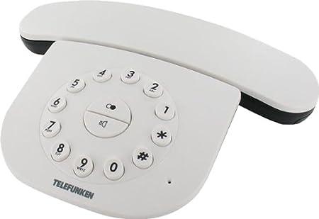 T�l�phone GSM TELEFUNKEN TE391EPOKWE BLANC SOLO AVEC REPONDEUR