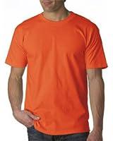 Bayside Adult USA-Made Short-Sleeve Tee - Bright Orange