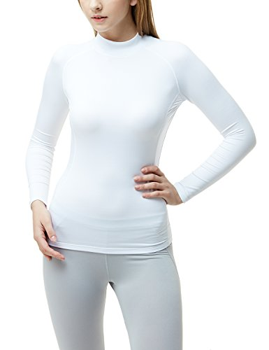 Coldgear Girls Legging (TSLA TM-XUT32-THW_Small Women's Wintergear Compression Baselayer Long Shirt XUT32)