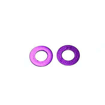10 PCS AuroraRC M3X6X0.25 Aluminum Flat Gasket Plain Washer for RC FPV Racing Drone – RC Toys & Hobbies Multi Rotor Parts – 10x M3X6X0.25 flat gasket