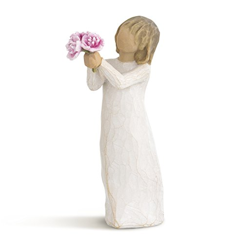 Willow Tree hand-painted sculpted figure, Thank You -
