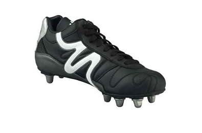 Mitre , Chaussures de rugby pour homme multicolore Noir/Gris 8 UK