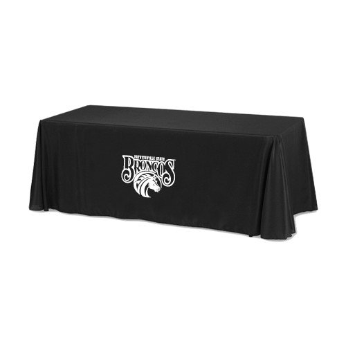 Fayetteville Black 6 foot Table Throw 'Official Logo' by CollegeFanGear
