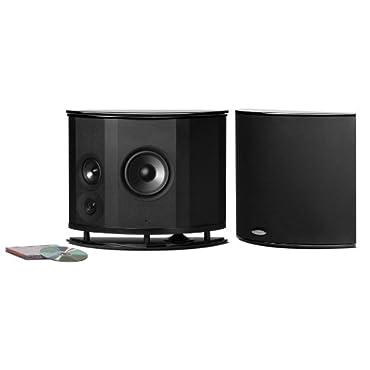 Polk Audio LSiM702 F/X Surround Effects Rear Speakers (Pair, Black)