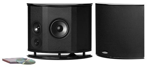 "Polk Audio LSiM Series 6.5"" 200W Surround Loudspeaker (Each) Black Gloss LSIM702FX"
