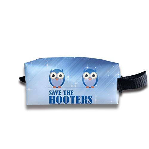 Toiletry Bag Save The Hooters Shaving Cosmetic Makeup