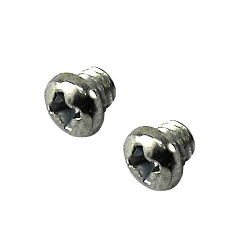 Lower Blade Replacement Screws - Fits Andis Master (1 Pair)