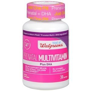 Walgreens Prenatal Multivitamin Plus DHA, Softgels, 30 ea