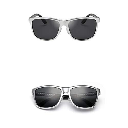 carrées au Anti en Alliage HQCC Couleurs UV pour Silver 4 reflet de Lunettes Soleil Choix Hommes Lunettes twptzqA6I