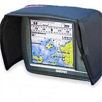 Sun Shade Glare Shield / Visor for Garmin GPSMAP Fishfinders and Sounders