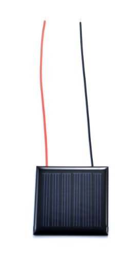 Small Solar Panel 3.0V 70mA with wires