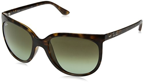 Ray-Ban Women's Cats 1000 Cateye Sunglasses, Havana, 57 - Rayban 1000 Cats