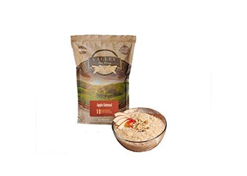 Emergency Preparedness Freeze Dried Food Supply - Apple Oatmeal (10 servings) - Valley Food Storage