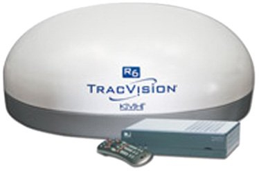 KVH 01.0263.04 TracVision R6ST White In-Motion Antenna System by KVH