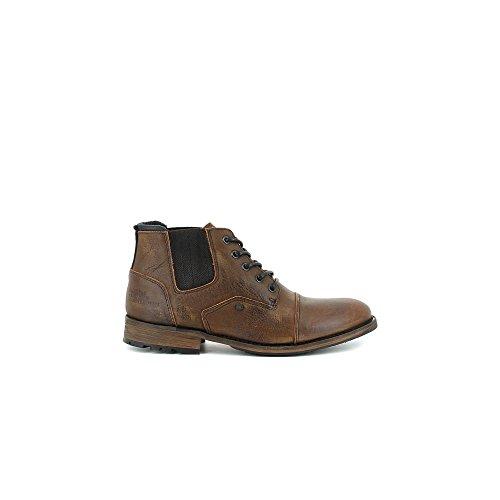 Bullboxer 719-K5-6173A Zapatos de cordones Hombre marron, EU 45
