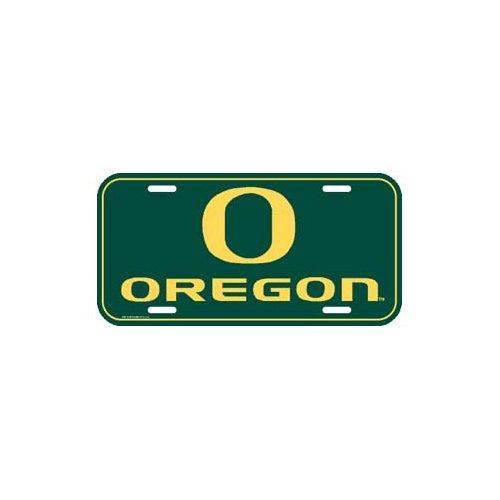 (NCAA University of Oregon License Plate)
