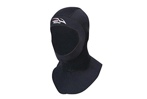 Scuba Diving Costume (Premium water 3mm Neoprene Hood Scuba Diving Hood Scuba Diving Hood Snorkeling Hood Surfing Hat Hood Neck Cover Wetsuits Unisex for Men and Women)