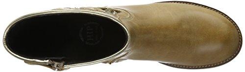 HIP Mädchen H1322 Kurzschaft Stiefel Braun (36LP/92Gl)
