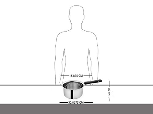 Pigeon-Triply-Stainless-Steel-Sauce-Pan-1-Litre14cm-Silver