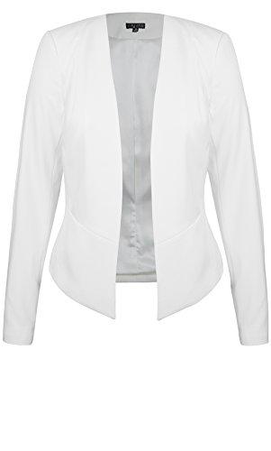 Designer Plus Size JKT MISS SOPHISTICAT - Ivory - 24 / XXL | City Chic