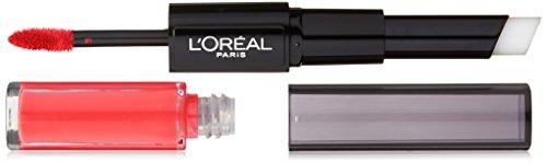 L'Oréal Paris Infallible Pro Last 2 Step Lipstick, Captivated By Cerise, 1 fl. oz.