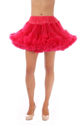 Adult Tutu on Amazon! by Malco Modes. Perfect adult tutu for a playful halloween costume or wear as a flirty petticoat skirt. Plus Size Petticoat also available - Raspberry (2)