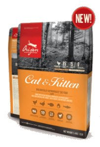 Orijen Cat & Kitten Dry cat food the award-winning 340 g.