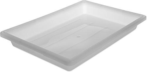 - Carlisle 1064002 StorPlus Polyethylene Food Storage Box, 5 Gallon Capacity, White (Case of 6)