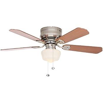 Hampton Bay Middleton 42 In. Brushed Nickel Ceiling Fan